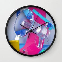 LoudUnclear Wall Clock