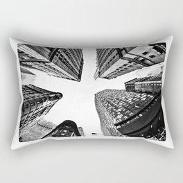Subtle City Rectangular Pillow