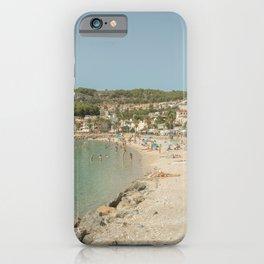 Soller port in Mallorca- Travel photography - Port de Soller, Mallorca iPhone Case
