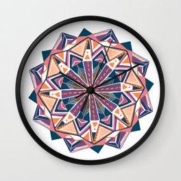 montana, mandala Wall Clock