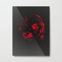 zkull - black Metal Print