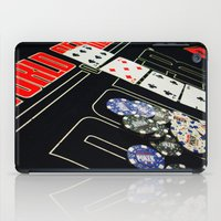 poker iPad Cases featuring poker by yahtz designs