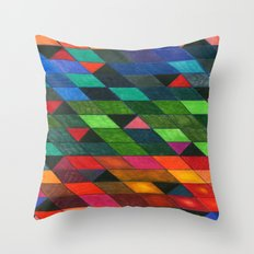 Pattern #1 Tiles Throw Pillow