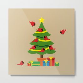 Christmas Is Merrier When Spent Together Metal Print