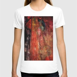 Sicilian Fisherman (This Artwork is a collaboration with the talented artist design  Ganech Joe) T-shirt