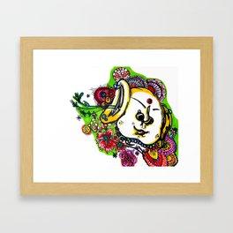 Booo-dah Framed Art Print