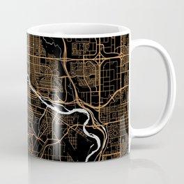 Calgary | Alberta | Canada - Minimalist City Map Coffee Mug