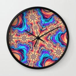 Interdimensional Tapestries Wall Clock