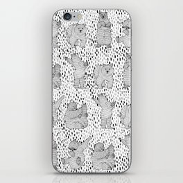 Lazy Bear iPhone Skin