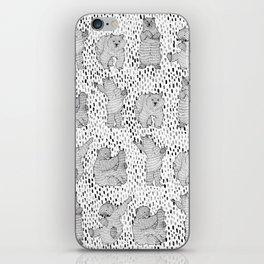 Lazy Bear iPhone Skin