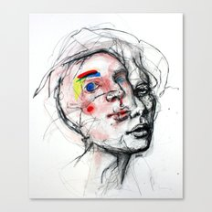 The abandonment of the body Canvas Print