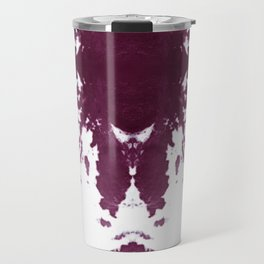 Velvet Kumo Shibori Plum Travel Mug