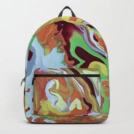 Orange Rhythm Backpack