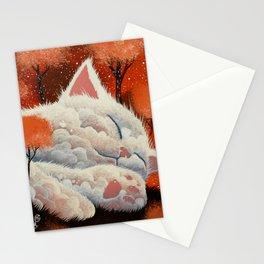 SLEEPING CLOUD by Raphaël Vavasseur Stationery Cards