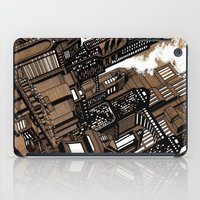 cityscape iPad Cases featuring Cityscape by David Miley