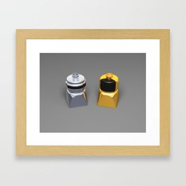 Duplo Daft Punk Framed Art Print