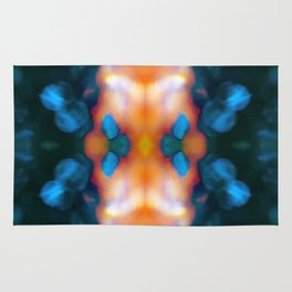 Abstraction float Rug