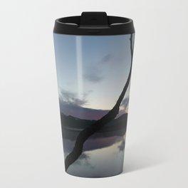 Sunset on lake, Nature Photography, Landscape Photos, sunset photos Travel Mug