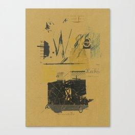 tempo proprio 28 Canvas Print