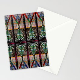 no. 279 blue green orange Stationery Cards