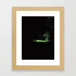little patch Framed Art Print