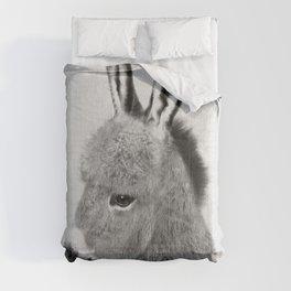 Donkey - Black & White Comforters
