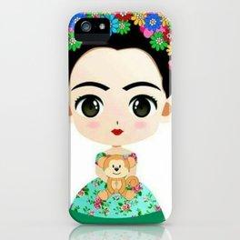 Frida Cartoon iPhone Case