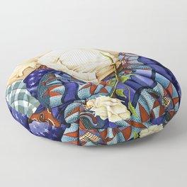Child Sleeping #2 Floor Pillow