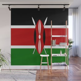 Flag of Kenya Wall Mural