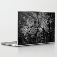 dallas Laptop & iPad Skins featuring Dallas map Texas by Line Line Lines