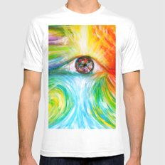 Elements Mens Fitted Tee MEDIUM White