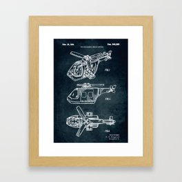 1994 - Toy building helicopter Framed Art Print
