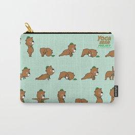 Yoga Bear Carry-All Pouch