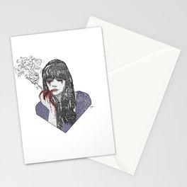 Mia Corvere - Nevernight by Jay Kristoff Stationery Cards