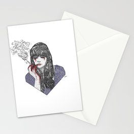 Mia Corvere - Nevernight by Jay Kristoff Stationery Cards