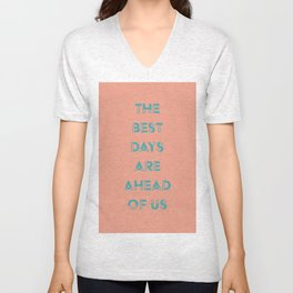 Ahead Unisex V-Neck