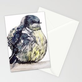 Eastern Yellow Robin Watercolour Painting Stationery Cards