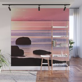 Lines in the Sea Wall Mural