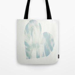 blue, Love Tote Bag