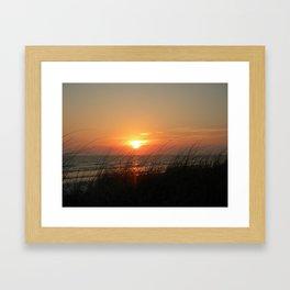 Sunset Fort Myers Beach Florida Framed Art Print