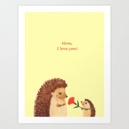 Mother's day Art Print