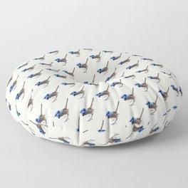 Little Wren, Natural Floor Pillow