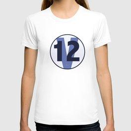 SRC Preparations Racecar Rebels: V12 British T-shirt