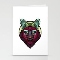 coyote Stationery Cards featuring Coyote by Graham Diehl