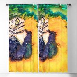 Parrot Blackout Curtain