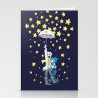 dmmd Stationery Cards featuring DMMd :: The stars are falling by Thais Magnta Canha