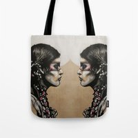 native Tote Bags featuring Native by Mo Baretta