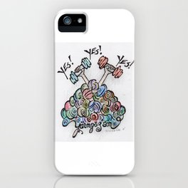 Yes! Yes! Yes!  iPhone Case