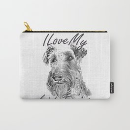 I Love My Irish Terrier Carry-All Pouch