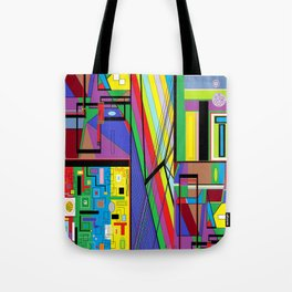 Geometry Abstract Tote Bag